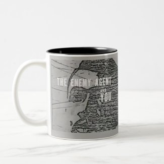 The Enemy Agent and You coffee mug