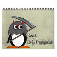The EVIL PENGUIN™ Cartoon CALENDAR 2013