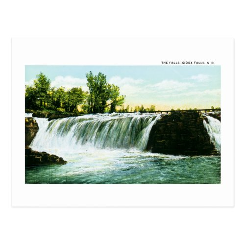 The Falls, Sioux Falls, South Dakota Postcard