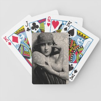 The Gloria Swanson Tattoo Playing Cards