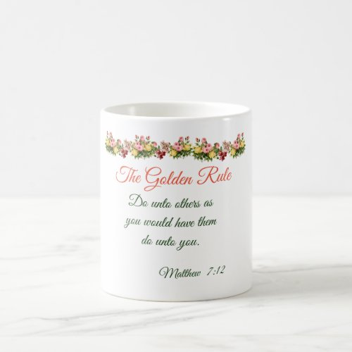 The Golden Rule Coffee Mug