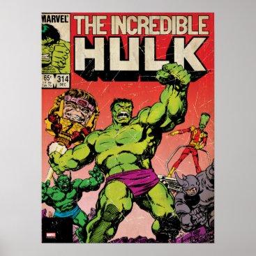 The Incredible Hulk Comic #314 Poster