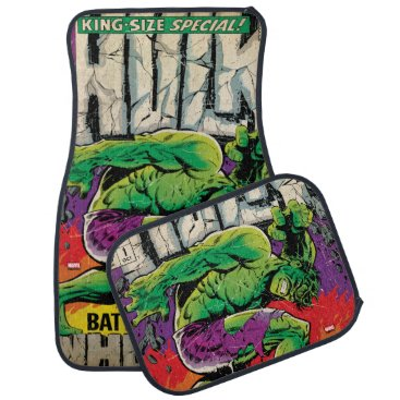 The Incredible Hulk King Size Special #1 Car Floor Mat