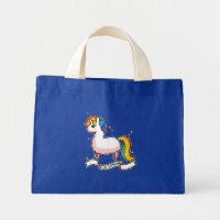 The Last Llamacorn Mini Tote Bag