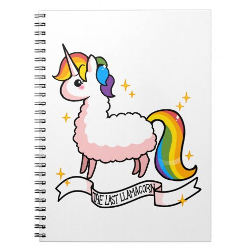 The Last Llamacorn Notebook