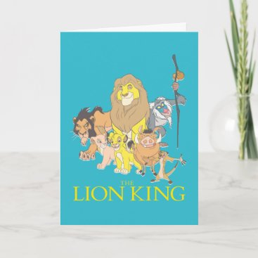 The Lion King | Title & Characters Card