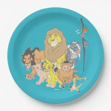 The Lion King | Title & Characters Paper Plate