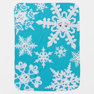 The Lonely Snowflake blanket