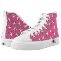 The Majestic Llamacorn High-Top Sneakers