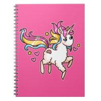 The Majestic Llamacorn Notebook