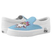 The Majestic Llamacorn Slip-On Sneakers