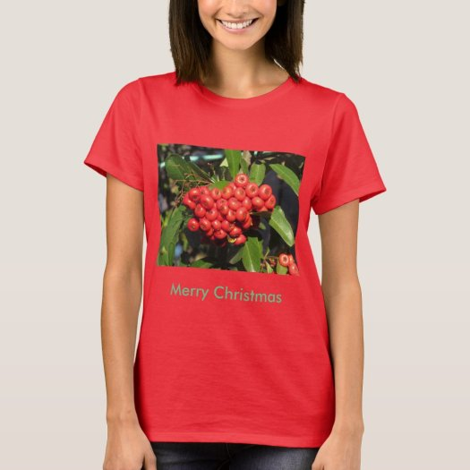 The Merry Christmas Pyracantha Shirt