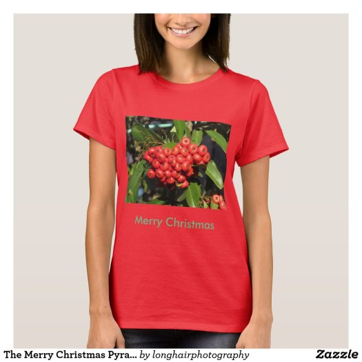 The Merry Christmas Pyracantha Shirt