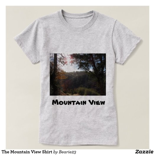 The Mountain View Shirt