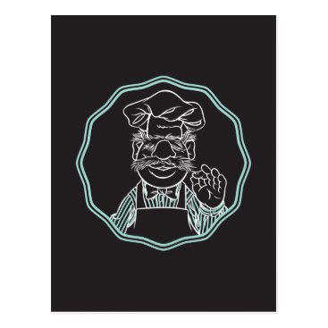 The Muppets | Chef Framed Postcard