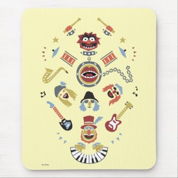 The Muppets Electric Mayhem Iconic Shape Graphic Mouse Pad