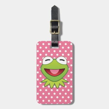 The Muppets| Kermit The Frog Emoji Luggage Tag