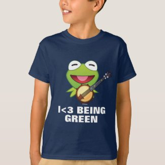 The Muppets| Kermit The Frog Emoji T-Shirt