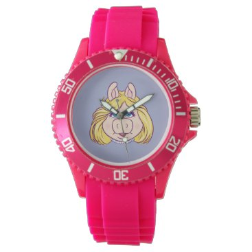 The Muppets Miss Piggy Face Disney Watch