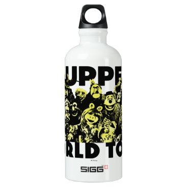 The Muppets World Tour Water Bottle