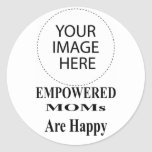 The MUSEUM Artist Series EMPOWERED MOMs Are Happy stickers