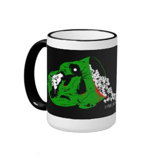 The Official Zombie Popcorn Mug mug