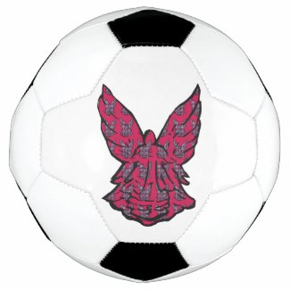 The Perfect Angel For The Perfect Sport Soccer Ball