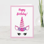 The Pink Unicorn Card