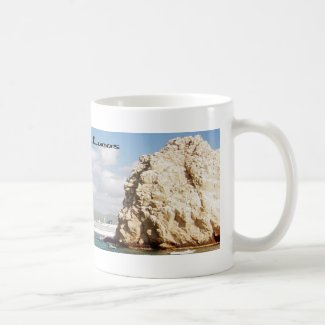 The point at Cabo San Lucas Classic White Coffee Mug