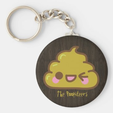 The Poopiteers - Cutey Poo Keychain