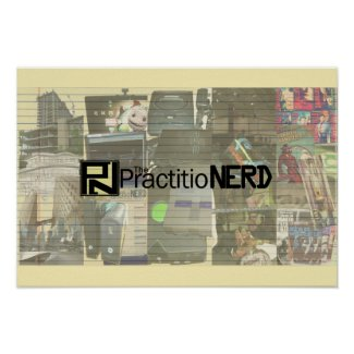 "The PractitioNERD - 19"" x 13"" Poster (Matte)"