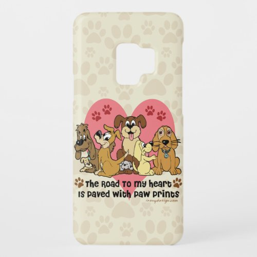 The Road To My Heart Dog Lover Case-Mate Samsung Galaxy S9 Case