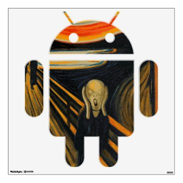 The Scream - Android Wall Decal