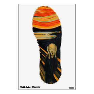 The Scream by Edvard Munch Wall Sticker