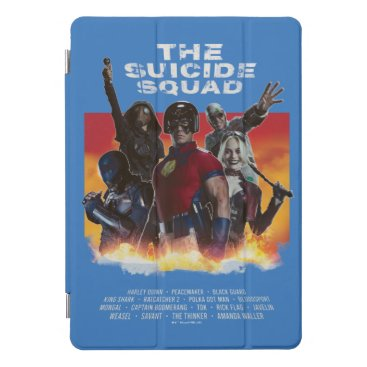The Suicide Squad | Retro-Style Movie Poster iPad Pro Cover