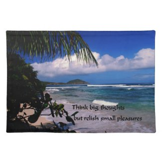 Think Big Cloth Placemat