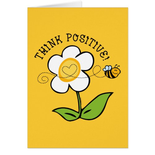 Think Positive Bee