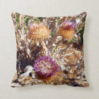 Thistle Throw Pillows