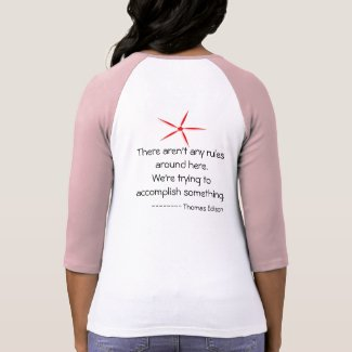 Thomas Edison quotes shirt