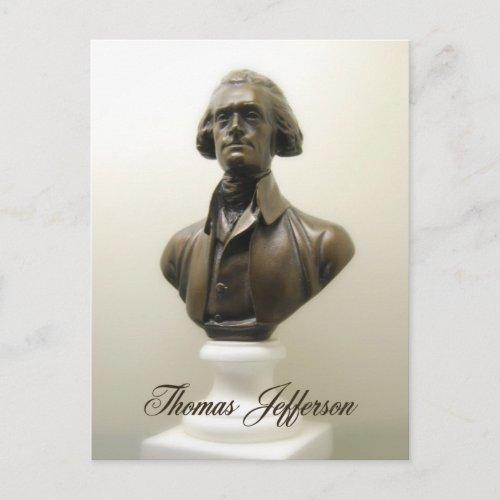 Thomas Jefferson Postcard postcard