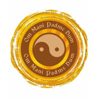 Tibetan Mantra Yin Yang shirt