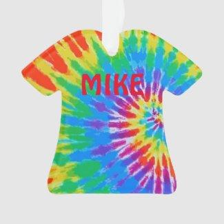 Tie Dye Spiral Rainbow