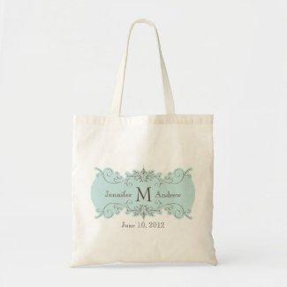 Swirl Monogram Wedding Bag