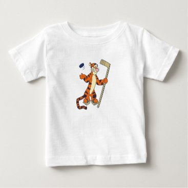 Tigger playing hockey baby T-Shirt