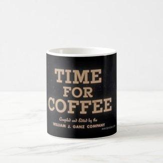 Time for Coffee coffee mug from Weirdo Video