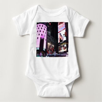 Times Square in New York City (pink) T-shirts