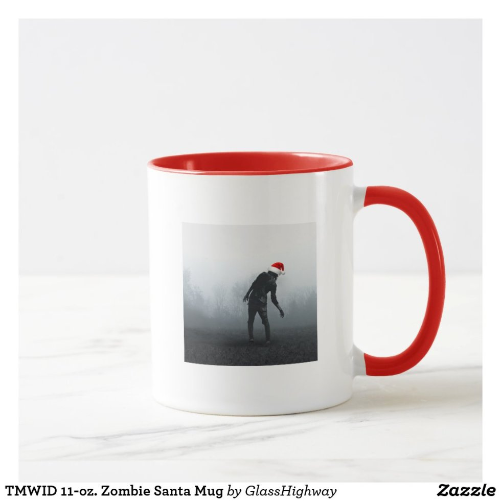 TMWID 11-oz. Zombie Santa Mug