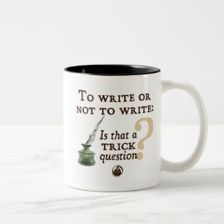 To Write or Not to Write Mug