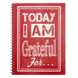 """Today I am Grateful for..."" Gratitude Journal"