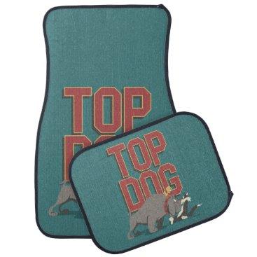 """Top Dog"" Spike Guarding TWEETY™ From SYLVESTER™ Car Floor Mat"